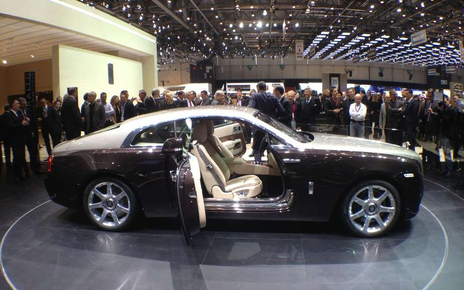 Rolls-Royce Wraith: it boosted sales picture #2
