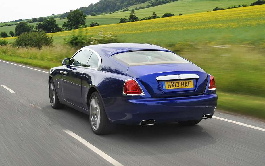 Rolls-Royce Wraith: it boosted sales picture #4
