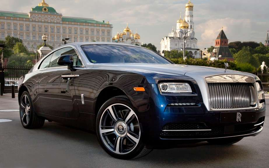 Rolls-Royce Wraith: it boosted sales picture #5