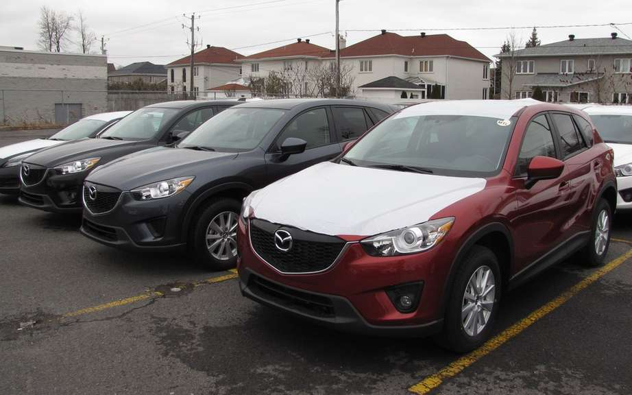 Mazda Canada Announces Sales for June 2013