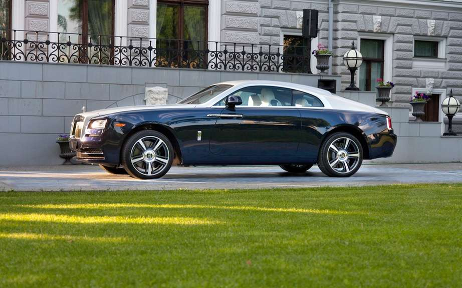 Rolls-Royce Wraith: it boosted sales picture #6