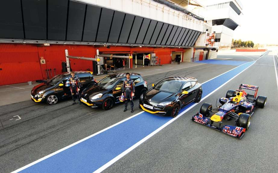 Renault Megane RS Bull Racing RB7: All genes of athletic performance