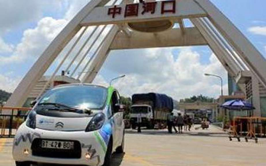 Electric Odyssey: Citroen C-Zero in contact with China!