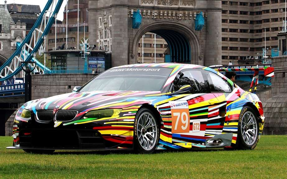 BMW Art Car at London Olympics