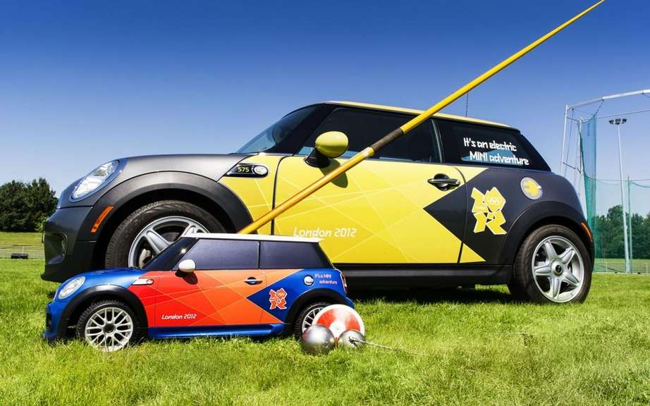 Mini electric MINI: to scale? for the Olympics picture #2