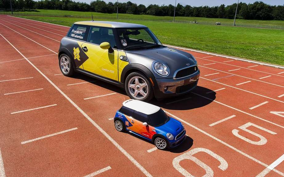 Mini electric MINI: to scale? for the Olympics picture #3