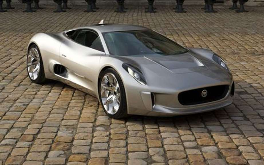 Jaguar C-X75: only 200 copies picture #3