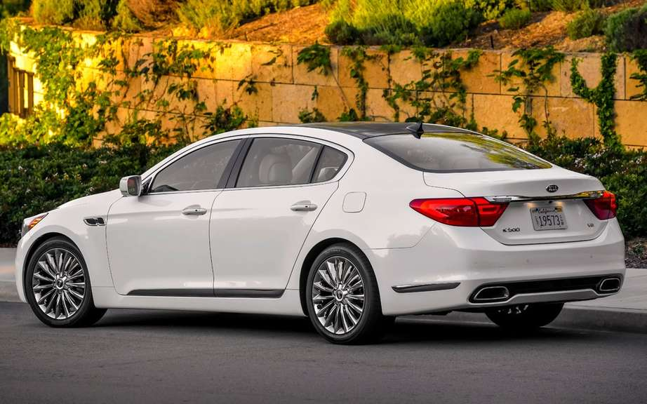 Kia K900: A coreenne in the big leagues picture #10