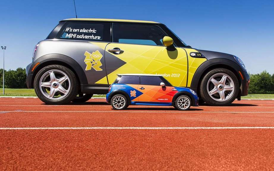 Mini electric MINI: to scale? for the Olympics picture #4