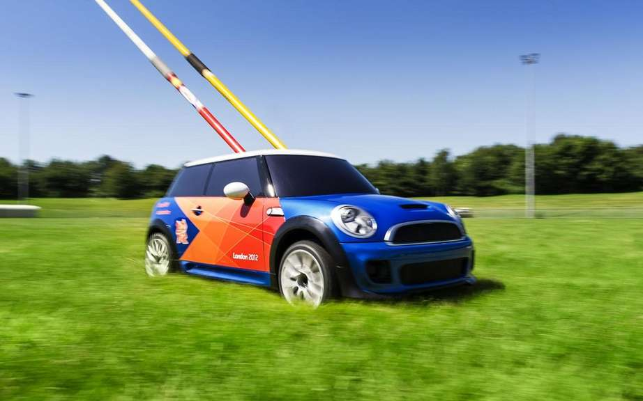 Mini electric MINI: to scale? for the Olympics picture #5