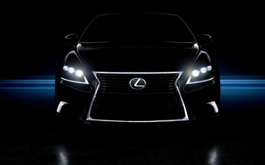 Lexus LS 2013: a more aggressive face picture #2