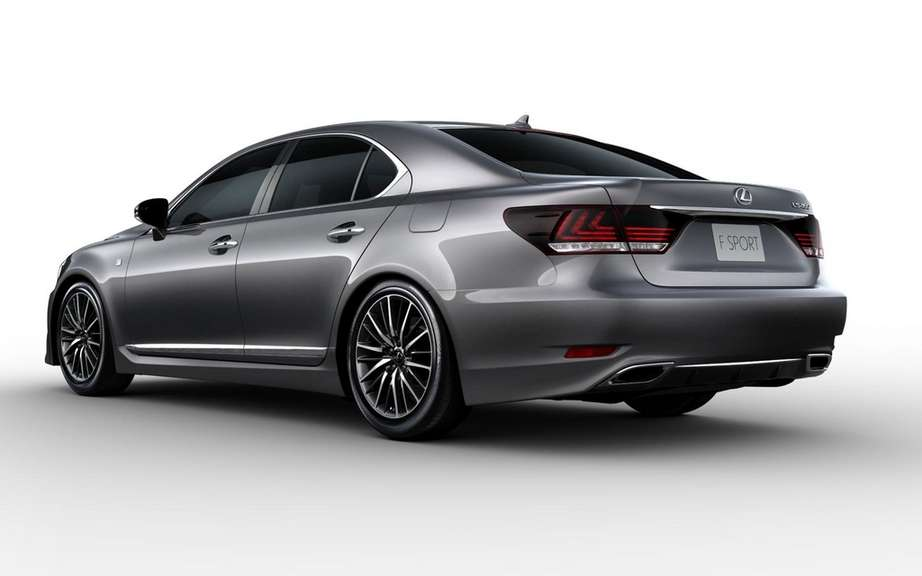 Lexus LS 2013: a more aggressive face picture #4