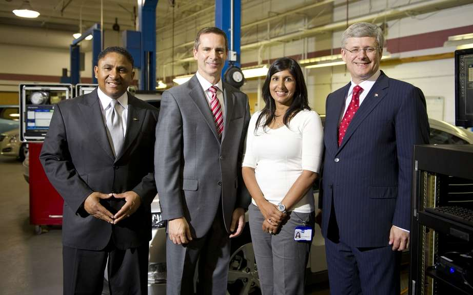 General Motors of Canada is investing $ 850 million in research and development