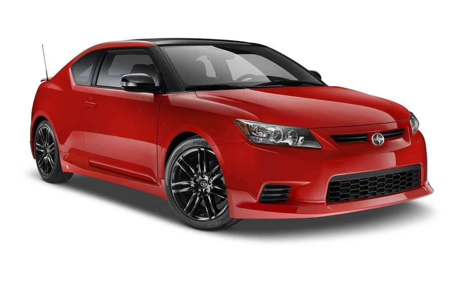 Scion tC Release Series 8.0: any red clothed
