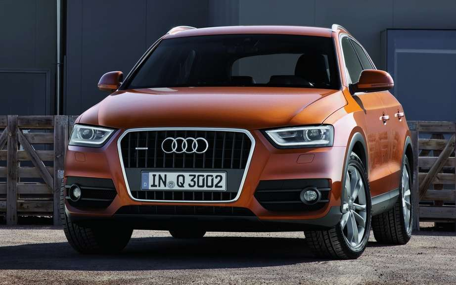 Audi Q2 for the Mondial de l'Automobile in Paris