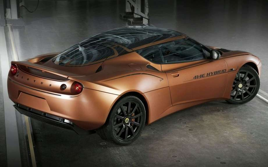 Lotus Evora 414E Hybrid: from concept to prototype picture #2