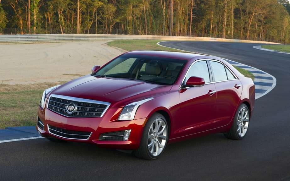 2013 Cadillac ATS: from $ 35,195