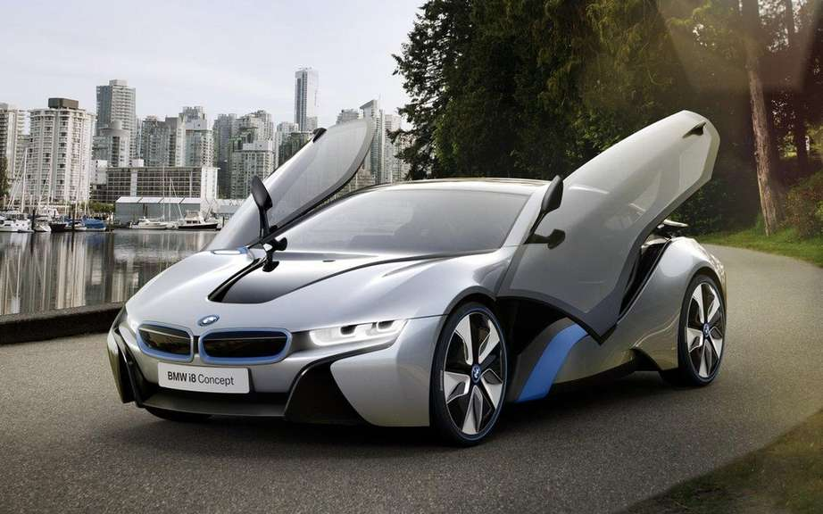 BMW i8 Concept: elected best concept 2012 picture #2