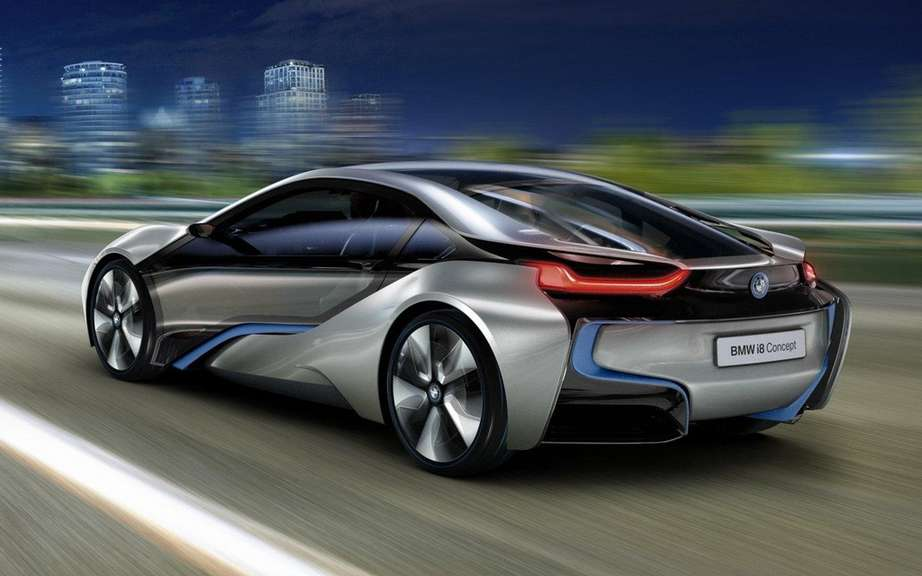 BMW i8 Concept: elected best concept 2012 picture #3