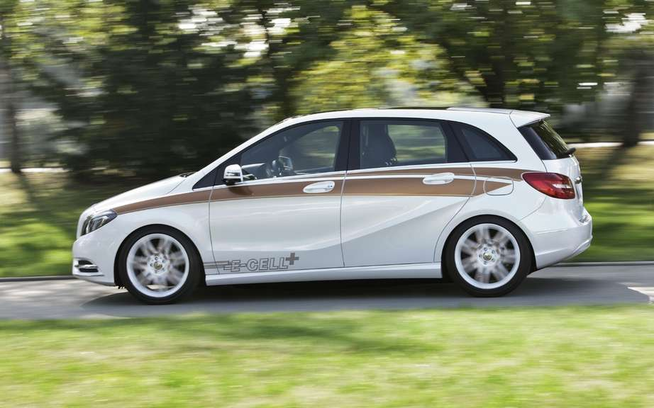 Mercedes-Benz B-Class electric: America in 2014 picture #3