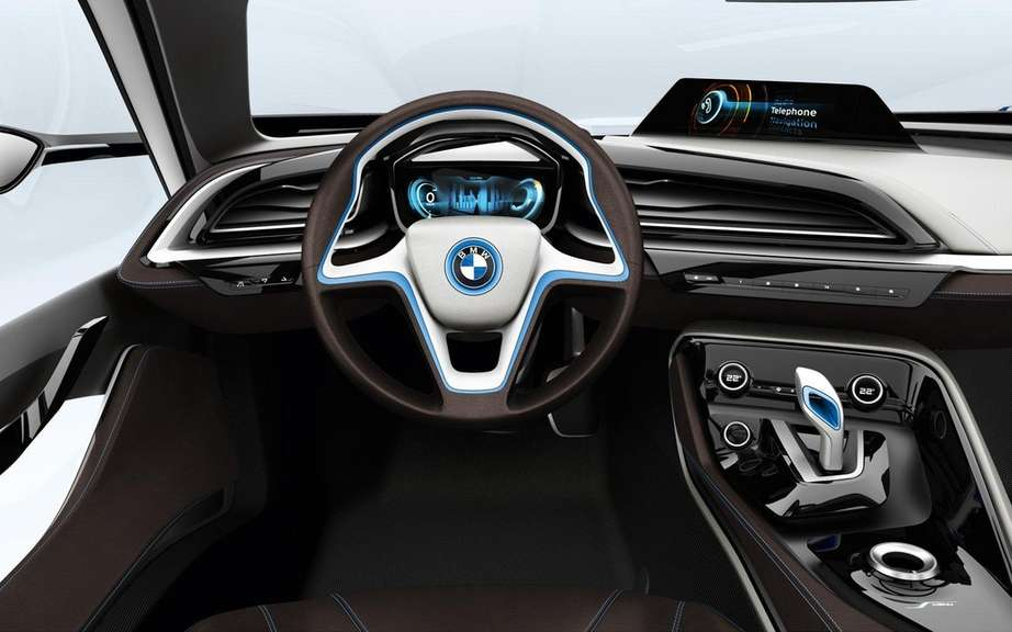 BMW i8 Concept: elected best concept 2012 picture #4
