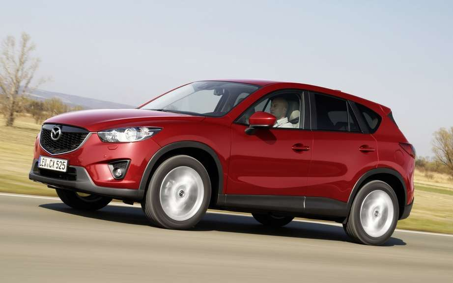 Mazda CX-5 SKYACTIV engines and: significant increase in production
