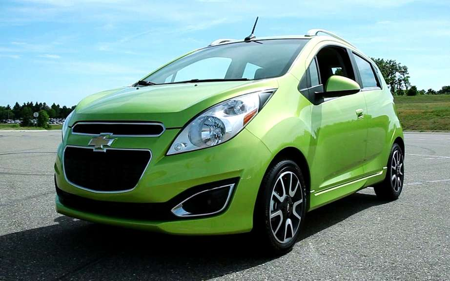 2013 Chevrolet Spark: rethought for urban life