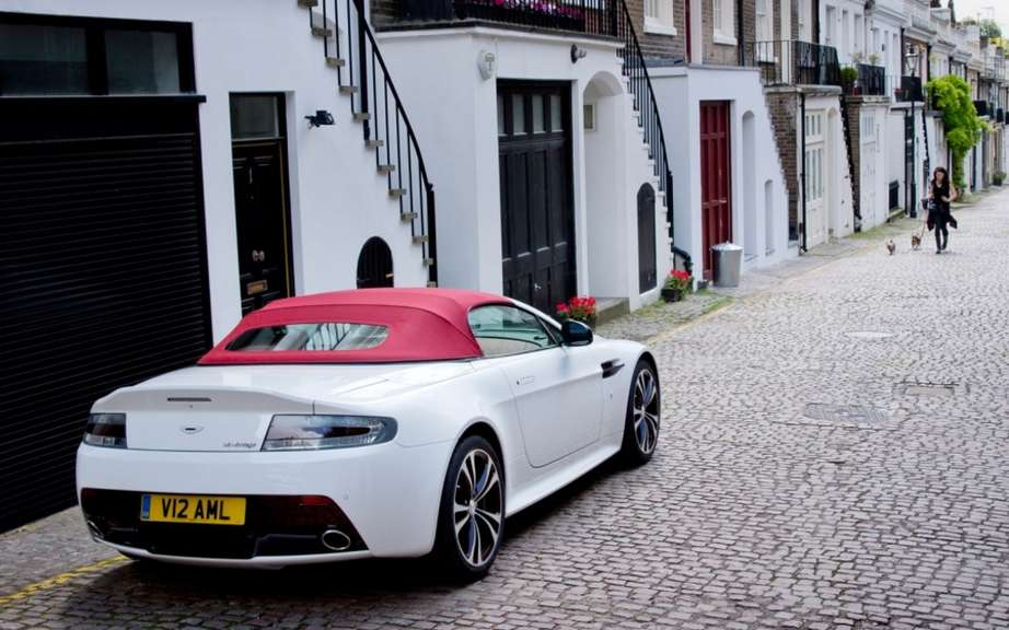 Aston Martin V12 Vantage Roadster: 101 for Preferred picture #4