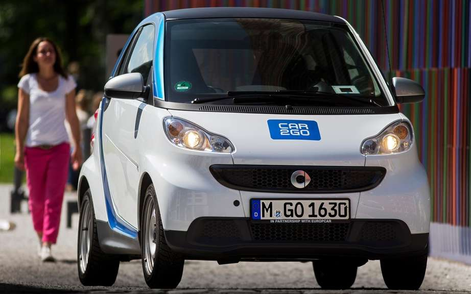 car2go launches a new form of car-sharing in Toronto