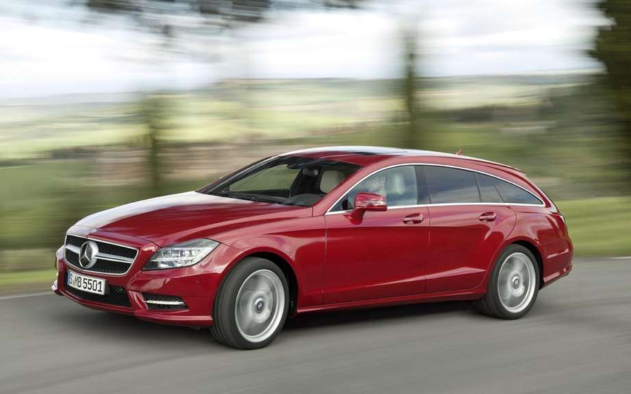 Mercedes-Benz CLS Shooting Break: three five-door