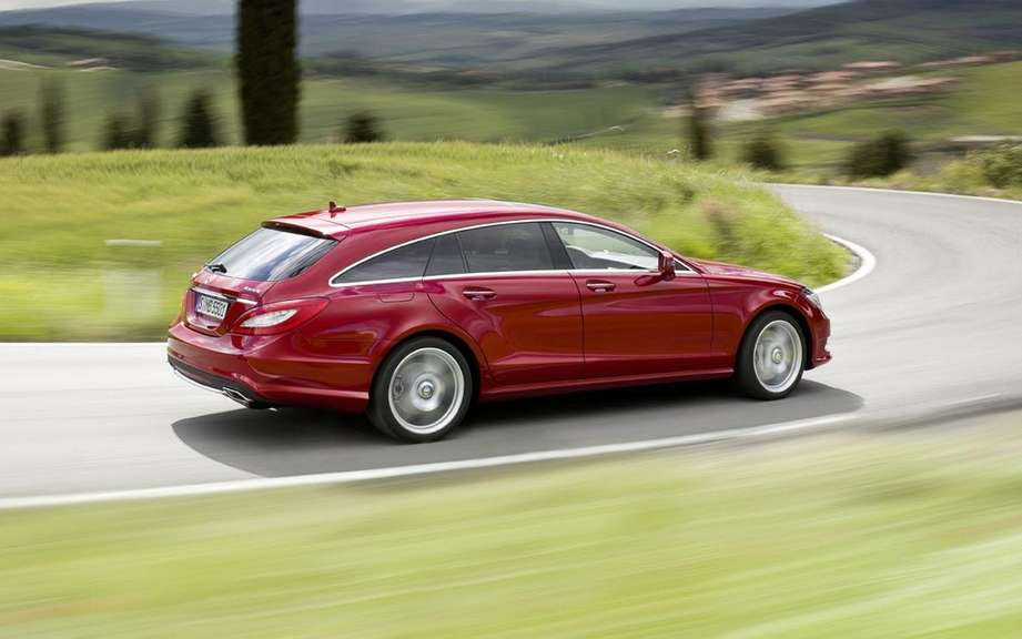 Mercedes-Benz CLS Shooting Break: three five-door picture #2