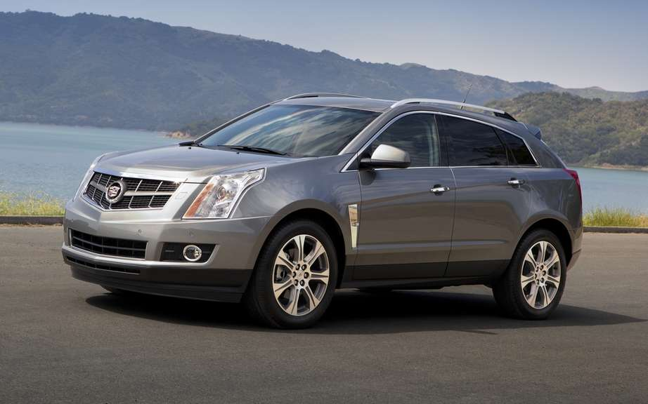 Cadillac SRX: ready to take