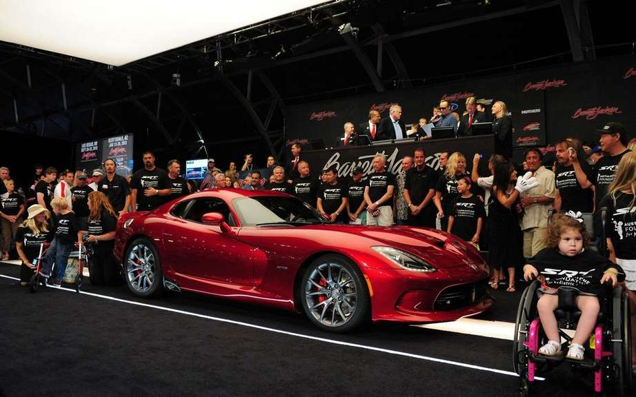 SRT Viper: $ 300,000 for the very first