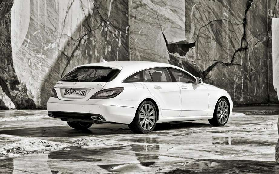 Mercedes-Benz CLS Shooting Break: three five-door picture #4