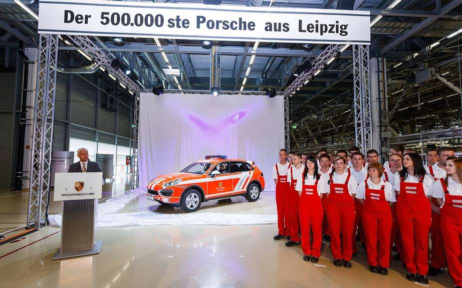 The Leipzig plant produced its 500 000th vehicle