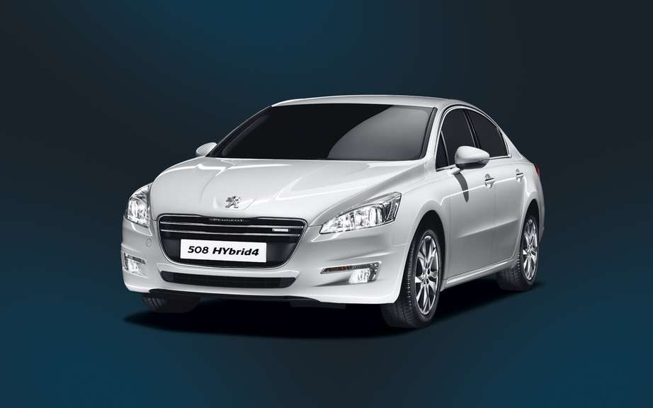 Peugeot 508 HYbrid4: 3rd version of Full Hybrid Diesel