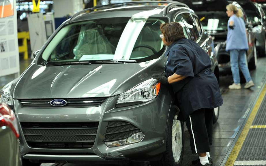 Ford Escape 2013: start of production picture #1