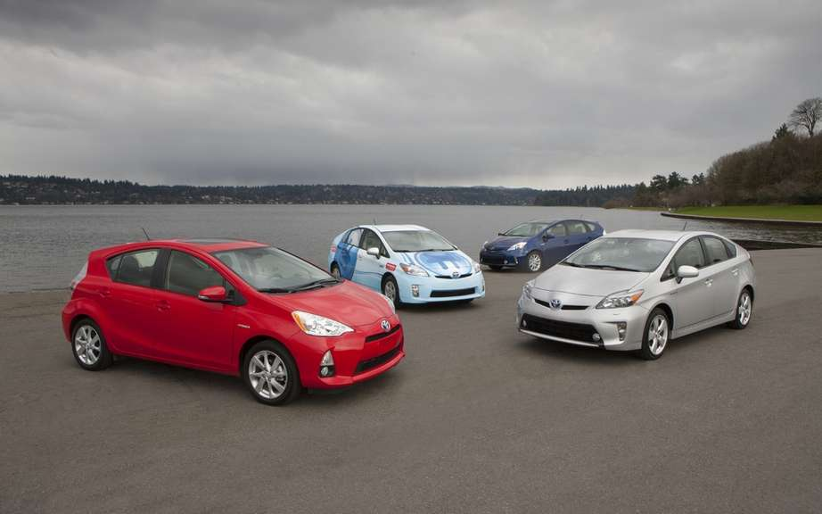 Toyota Prius 3rd position of global sales