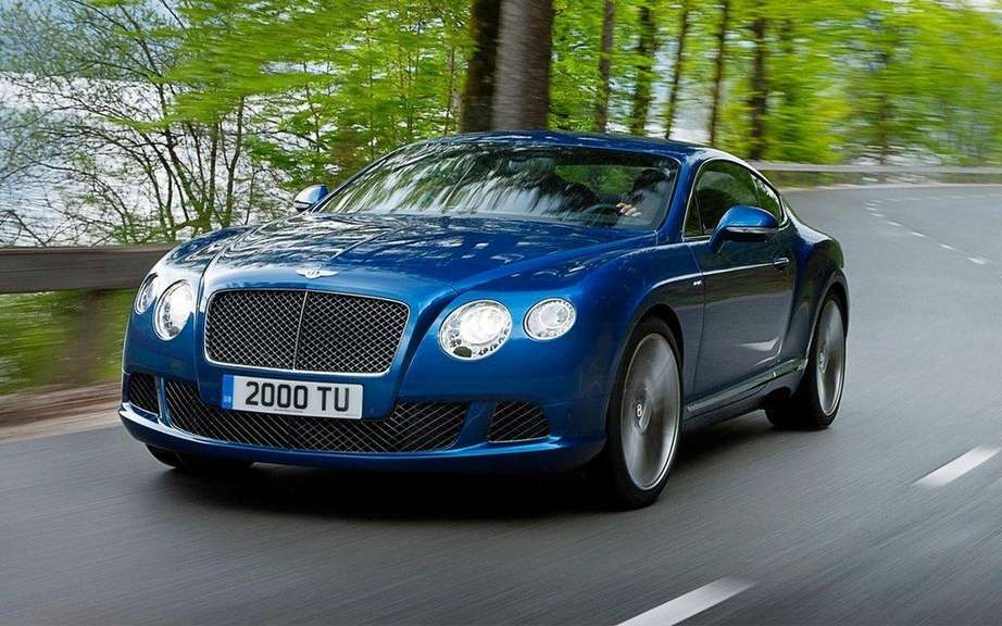 Bentley Continental GT Speed: Unveiled at Goodwood Festival of Speed picture #1