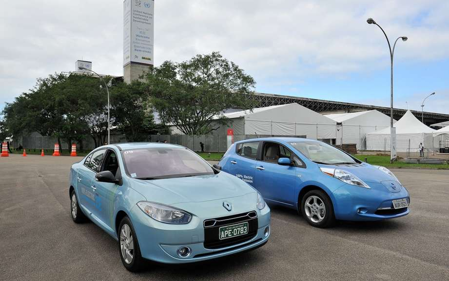 The Renault-Nissan Alliance rewarded Rio +20 by an NGO for its commitment to zero emission mobility picture #2
