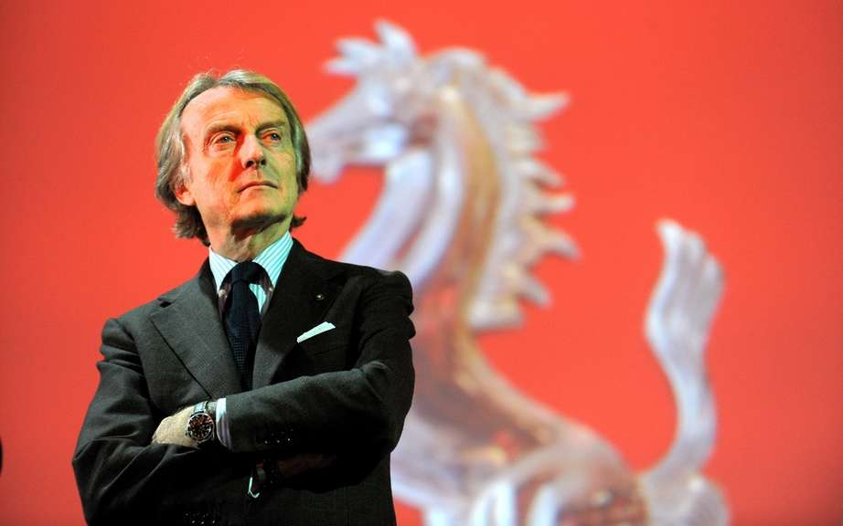 Luca di Montezemolo receives the title of European Manager of the Year