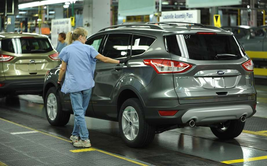 Ford Escape 2013: start of production picture #2