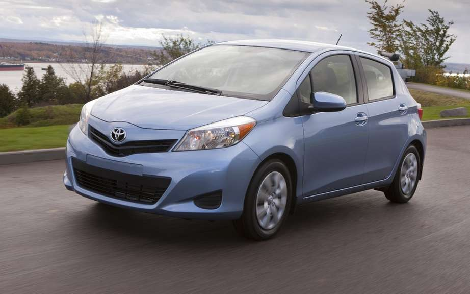 Toyota Yaris 2013: from the French Valenciennes plant