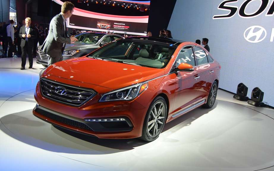 Hyundai Sonata 2015 more luxurious, more hoopoe