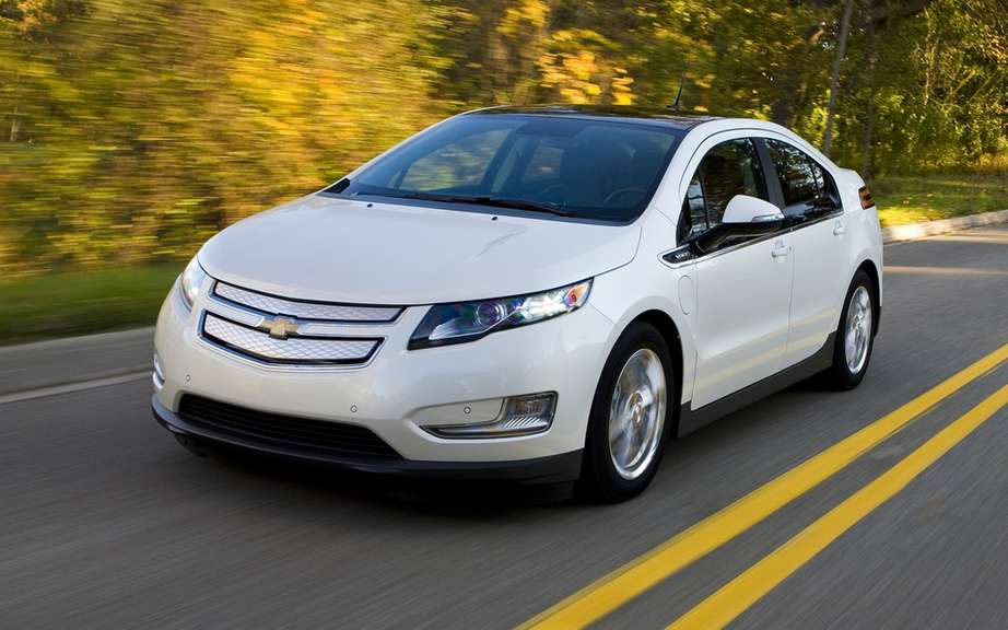 Chevrolet Volt 2013: a somewhat more extensive autonomy