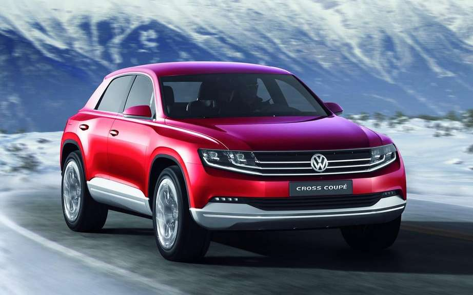 Volkswagen is considering to offer an intermediate SUV picture #1