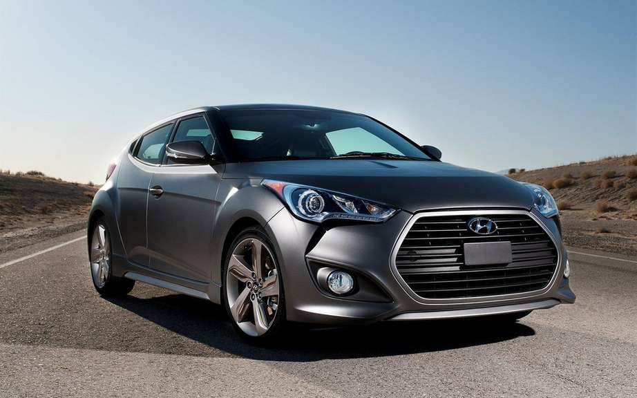 Hyundai Veloster Turbo 2013: Unveiling of Canadian prices