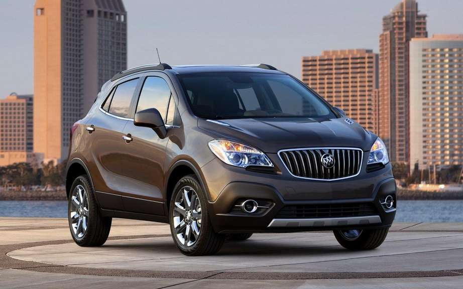 Buick Encore: four clones already developing picture #1