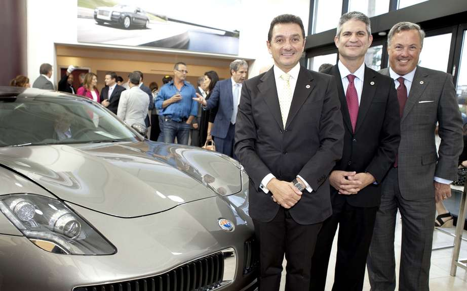 Fisker Karma: unveiling a very quebecois succeeded
