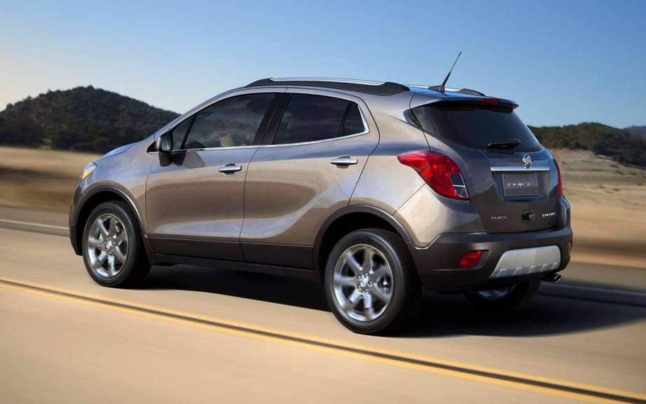 Buick Encore: four clones already developing picture #2